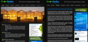 Growponics Americas Website Design